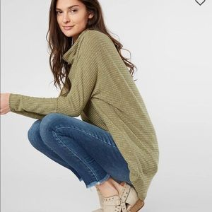 Free People Kitty Cowl Neck Tunic